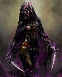 ArtStation - The Wraith Blade, Brian Moncus Destiny Comic, Destiny Game, My Destiny, Destiny Tattoo, Fantasy Character Design, Character Inspiration, Character Art, Destiny Fallen, Cyberpunk