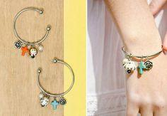 Cute diy charm bracelet.