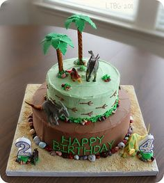 Dino cake...future party idea