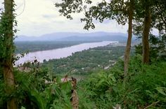 Mekong River near the Golden Triangle - Chiang Rai, Thailand