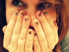 Legend of Zelda nails