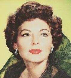 Ava Gardner Ava Gardner, Old Hollywood Glamour, Vintage Hollywood, Classic Hollywood, Hollywood Divas, Sophia Loren Images, She's A Lady, Classic Movie Stars, Hooray For Hollywood