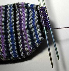Sock Knitting Tips. Very clear grafting instructions.