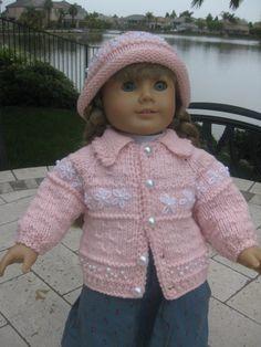 Doll Sweater/hat set.
