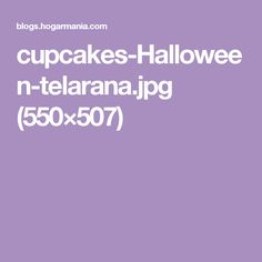 cupcakes-Halloween-telarana.jpg (550×507)