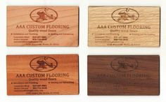 #custombusinesscard #woodbusinesscard #businesscard #custom #engraved #customengravedbusinesscard Wood Business Cards, Custom Business Cards, Wood Floor Installation, Price Quote, Fort Collins, Custom Engraving, Bamboo Cutting Board, How To Memorize Things, Make It Yourself