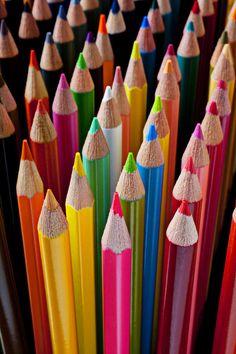 Colored Pencils Photograph  - Colored Pencils Fine Art Print