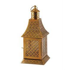 Enigma Gold Lantern - MNM Gifts
