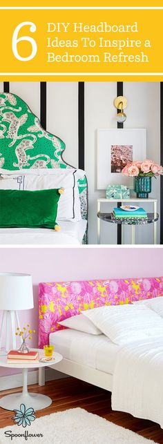 6 DIY Headboard Ideas To Inspire a Bedroom Refresh – Tired of walking into your … - DIY Wohnkultur für Mieter Ideen Rental Home Decor, Easy Home Decor, Pillow Room, Bed Pillows, Diy Headboards, Headboard Ideas, Cute Bedding, Custom Pillows, Home Decor Inspiration