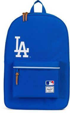Herschel Rucksack mit Laptopfach, »Heritage, MLB Los Angeles Dodgers« für 69,99€. Backpack »Heritage, MLB Los Angeles Dodgers«, B/T/H: ca. 47/15/30 cm bei OTTO