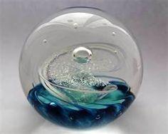 Scottish Glass Paperweights   Scottish - Azure 1998- Paperweight