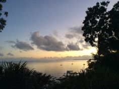 Taken from our guest accommodation last night. Beautiful view of the Coral Sea.
