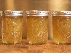 lemon marmalade results in a spread that is exceptionally tart, zippy, and bursting with citrus flavor. Fresh and crystallized ginger add extra spice and zing. Try it over warm gingerbread or stirred into vanilla ice cream. Ginger Marmalade Recipe, Lemon Marmalade, Lemon Ginger Recipe, Crystalized Ginger Recipe, Honey Lemon, Jam Recipes, Canning Recipes, Jelly Recipes, Crystals