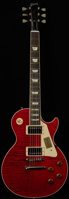 Gibson Custom Shop Limited Modern Les Paul Standard Gloss Trans Red