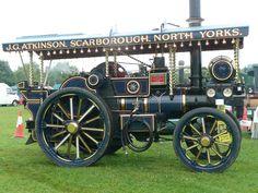 Garret steam tractor
