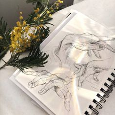how to draw poses Art Sketches, Art Drawings, Inspiration Artistique, Artist Aesthetic, Aesthetic Painting, Aesthetic Drawing, Art Manga, Drawing Hands, Arte Sketchbook