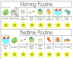 MsWenduhh Planners & Printables: How To Get A Scheduled Routine Going for…