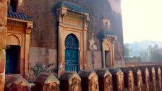 Backyard of the Moorish Mosque