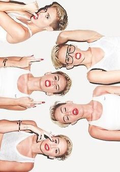 Miley cyrus. Love her ❤️ she's not afraid to be herself, not afraid to be different. Plus, she can really rock any style there is.