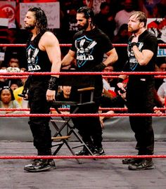 Wwe Seth Rollins, Wwe Roman Reigns, Dean Ambrose, Big Dogs, Empire, Guy, Wrestling, Sports, Lucha Libre