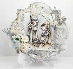Pion Nativity card