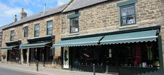 Our shopfront in Middle Street Corbridge This Is Us, Middle, Autumn, Street, Outdoor Decor, Holiday, Shop, Home Decor, Fall