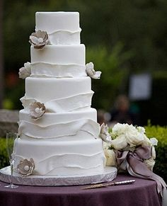 . by cornelia wedding cake
