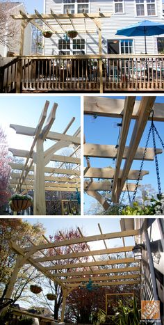 Still can't believe my husband built this pergola! See more on the @Home Depot Apron blog.