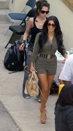 Loving Army Green Right Now – Khloe Kardashian official web site