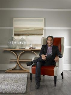 Tom Filicia in James Street Wing Chair