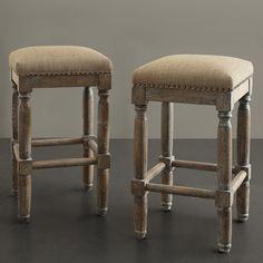 "Laurel Foundry Modern Farmhouse Remy 26"" Bar Stool Upholstery: Sand"