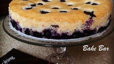 Eggless blueberry cake Recipe Eggless blueberry cake that looked and tasted like a cheesecake!!