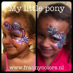 My little pony facepainting