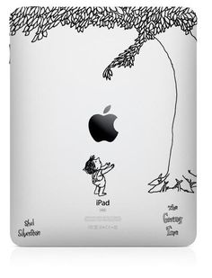 remember The Giving Tree? Love the life lessons of that book AND it's an iPad decal! Can't go wrong!