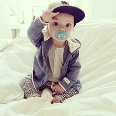 Stylish baby