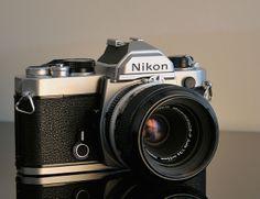 Nikon FM - Simple elegance. Hope you're enjoying it, Helen.