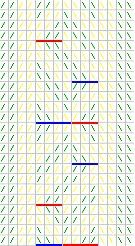 Adventures in Historical Tabletweaving: egyptian diagonals