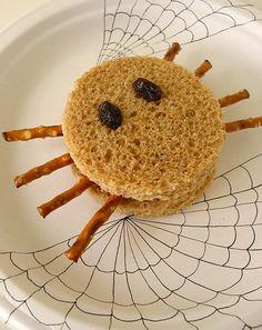 Activities: Spider Halloween Sandwiches