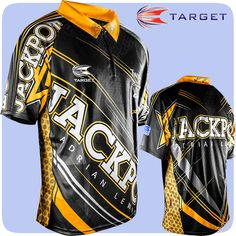 Adrian Lewis - Target Authentic Replica Dart Shirt - Cool Play - XS to 5XL - Jackpot - http://www.dartscorner.co.uk/product_info.php?cPath=3_346&products_id=13022