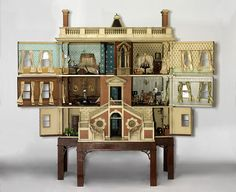 The dollhouses at the Victoria & Albert. Fascinating.