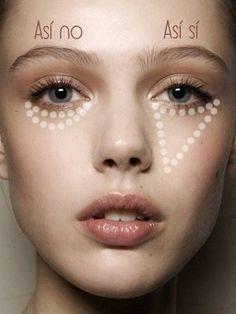Iluminador de rostro: secretos para aplicarlo | Consejos y Tips | Revista de Maquillaje y Pelo | Bettina Frumboli