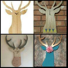 Some DIY maybe. Looks cool just plain Looks Cool, Moose Art, Bedroom Decor, Decorating, Cool Stuff, Diy, Animals, Inspiration, Decor