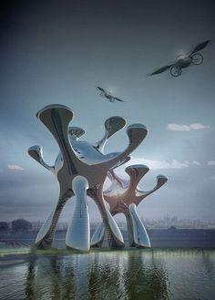 Fotografía de arquitectura conceptual