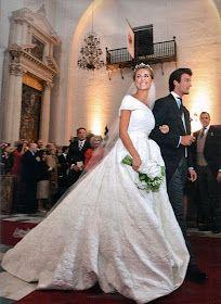 Red Carpet Wedding: Rafael Medina, duke of Feria, and Laura Vecino Wedding
