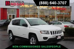 Used 2017 Jeep Compass Sport for sale at Burien Nissan in Burien, WA for $14,788. View now on Cars.com. Jeep Compass Sport, Dog Car, Nissan, Cars, Autos, Car, Automobile, Trucks