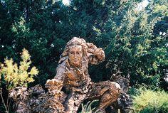 Statue at Chicago Botanic Garden by niureitman, via Flickr Chicago Botanic Garden, Bike Trails, Sandy Beaches, North Shore, Illinois, Lion Sculpture, Statue, Landscape, Park