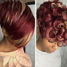 Look at that hair color! It's all about the color! #ItsAllAboutTheColor #StephanieLJpins