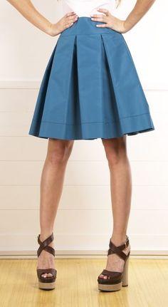 .falda tableada