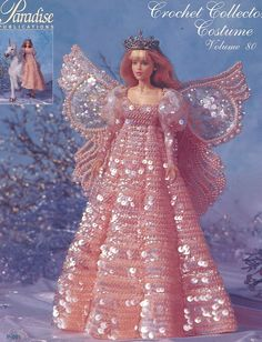 1495 Fairytale Renaissance Princess Paradise 80 Barbie Doll Crochet Pattern New | eBay