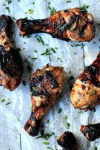 Balsamic Glazed Grilled Chicken {Paleo and Gluten Free}